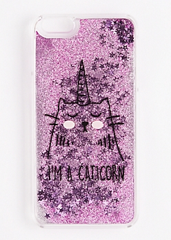 Caticorn Glitter Case For iPhone 6Plus