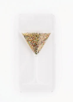 Martini Glitter Case For iPhone 6/6s