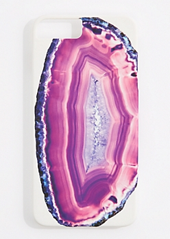 Pink Agate Phone Case for iPhone 6 Plus / 7 Plus