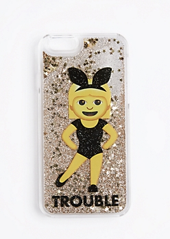 Sparkle Bunny Girl Trouble Case For iPhone 6S/6