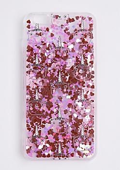 Cat Unicorn Sparkle Case For iPhone 6 Plus / 6s Plus