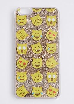Crazy Cat Sparkle Case For iPhone 6 Plus / 6s Plus