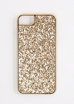 Golden Glitter Phone Case for iPhone 6/6S/7