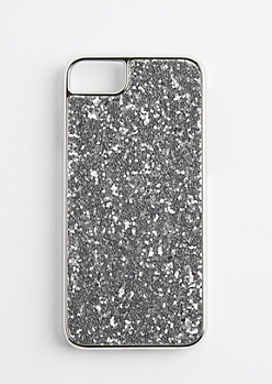 Chunky Silver Glitter Case for iPhone 6/6s/7
