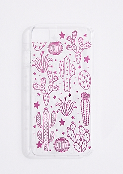 Pink Cactus Phone Case for iPhone 6/6S/7