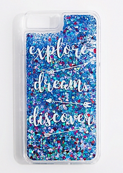 Discover Glitter Phone Case for iPhone 6 Plus/7 Plus