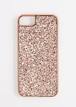 Rose Gold Glitter Phone Case for iPhone 6/6S/7