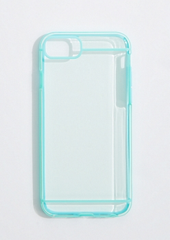 Mint Piped Case for iPhone 6/7