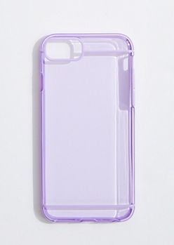 Purple Piped Case for iPhone 6/7