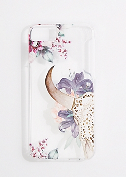 Wildflower Skull Case for iPhone 6/7