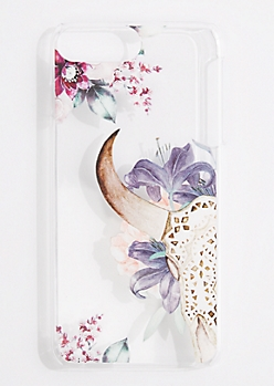 Wildflower Skull Case for iPhone 6 Plus/ 7 Plus