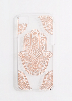 Golden Hamsa Case for iPhone 6/7