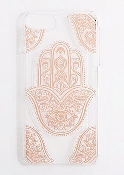 Golden Hamsa Case for iPhone 6 Plus/ 7 Plus