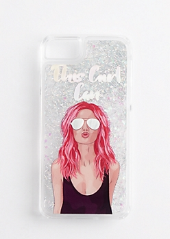 This Girl Can Glitter Case for iPhone 6/6s/7