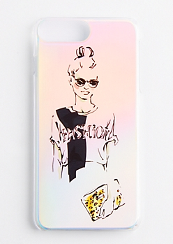 Diva Reflective Case for iPhone 6 Plus/7 Plus