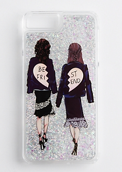Best Friend Glitter Case for iPhone 6 Plus/7 Plus