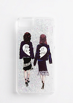Best Friend Glitter Case for iPhone 6/6s/7
