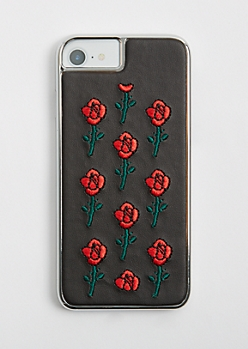Rose Stitched Case for iPhone 6/6S/7