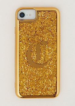 C Gold Glitter Case for iPhone 6/6S/7