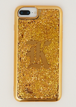 K Gold Glitter Case for iPhone 6 Plus/7 Plus