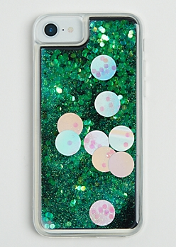 Dotted Glitter Case for iPhone 6/6S/7