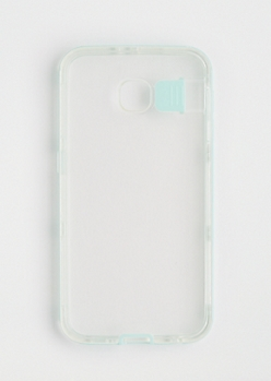 Mint Galaxy S 6 Flash Case
