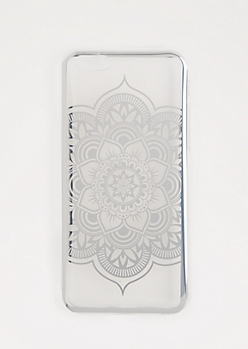 Silver Mandala Case for iPhone 6S/6