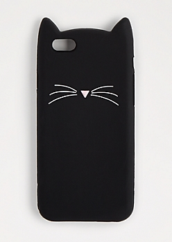 Black Kitty 3D Case for iPhone 6S/6