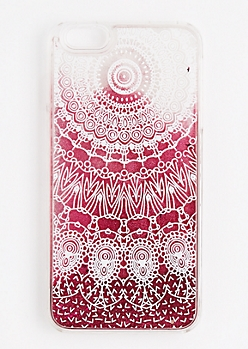 Floating Glitter Dreamcatcher Case for iPhone 6 Plus
