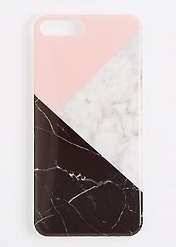 Geo Marbled Flex Phone Case for iPhone 7 Plus