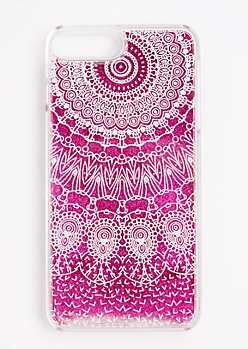 Glitter Dreamcatcher Case For iPhone 7 Plus