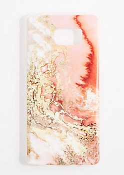Pink Marble Case For Galaxy Note 5