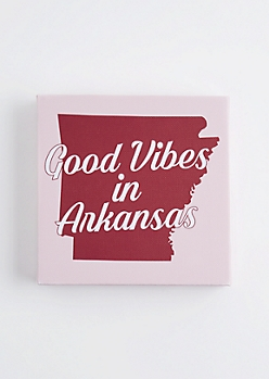 Good Vibes in Arkansas Canvas