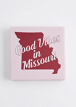 Good Vibes in Missouri Canvas