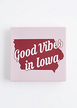 Good Vibes in Iowa Canvas
