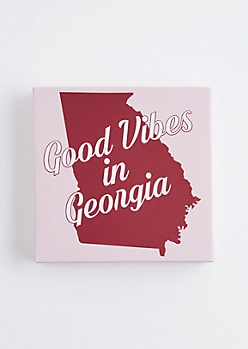 Good Vibes in Georgia Canvas