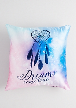 Feathered Dreamcatcher Pillow