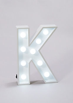Initial K Marquee Light