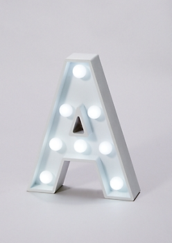 Initial A Marquee Light