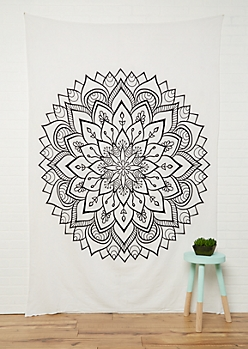 Mandala Medallion Wall Tapestry