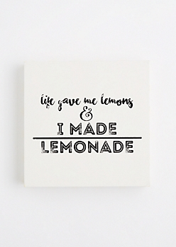 Lemonade Wooden Wall Hanging