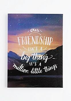 Our Friendship Canvas