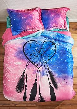 Heart Dreamcatcher Comforter Set - Full/Queen