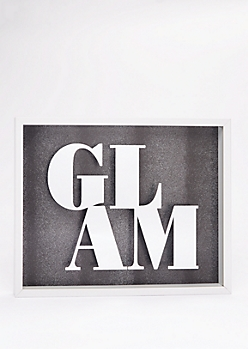 Glam Shadow Box Wall Art