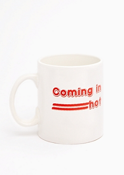 Coming In Hot Oversized Mug
