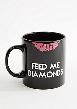 Feed Me Diamonds Oversize Mug