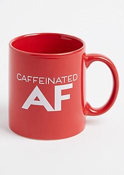 Caffeinated AF Oversized Mug