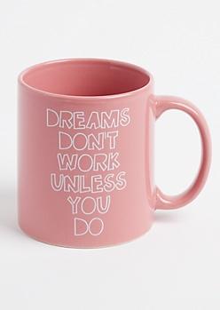 Dreams Oversized Mug