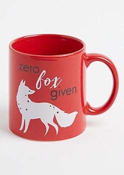 Zero Fox Given Oversized Mug