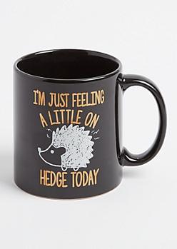 On Hedge Today Oversized Mug